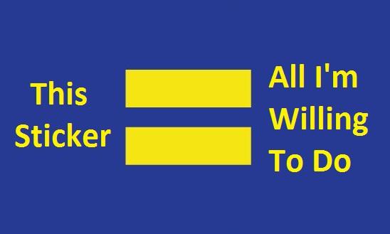 Popular bumper stickers catholic equality
