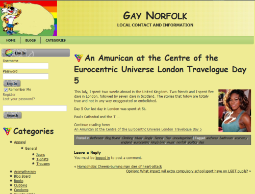 Gay Norfolk